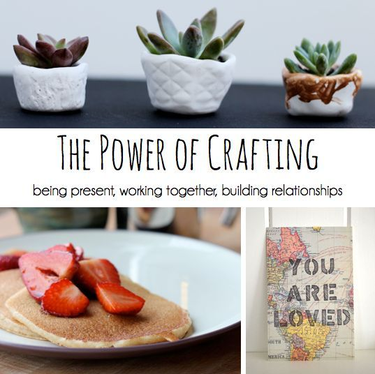 {The Power of Crafting} 6 DIY projects perfect for experiencing the happiness, warmth, and sharing creating can bring to you, to your little one, and to friends and family around you. Try one (or all!) out today!) #self personality #softskills #soft skills