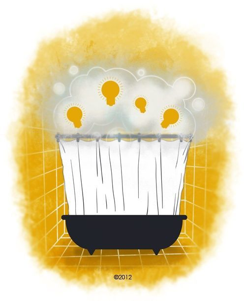 The Power of Shower Thinking // IdeaLearning #soft skills #softskills
