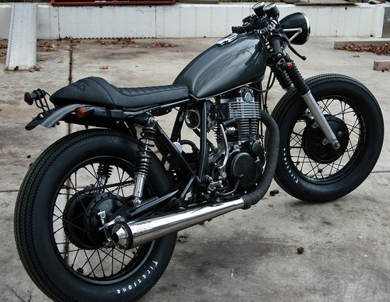 Motorcycle-Cafe Racer