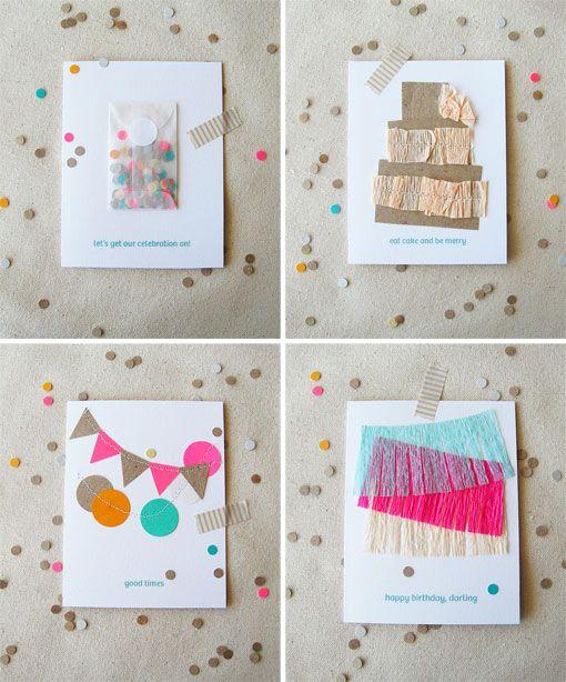 Lovely handmade cards.