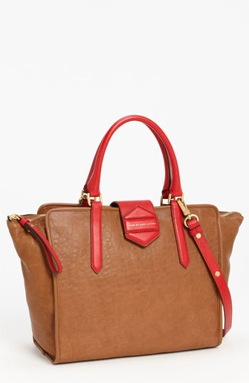 MARC BY MARC JACOBS 'Flipping Out' Leather Tote