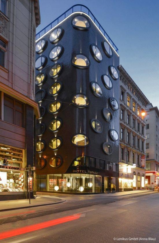 Hotel Topazz / BWM Architects, 2012 - Vienna, Austria.- #architecture - ?k?