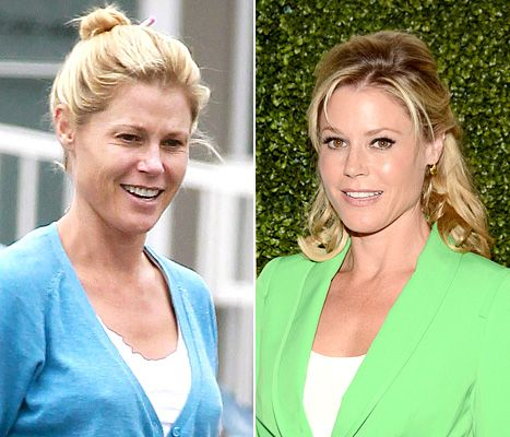 Julie Bowen sans makeup in L.A. - find out what she did while out and about!