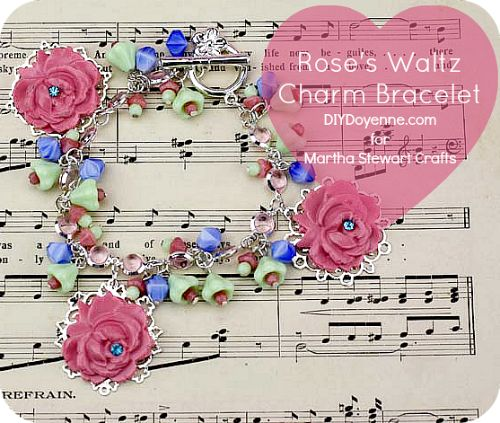 Rose's Waltz Charm Bracelet
