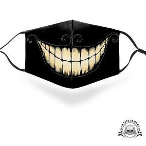 Joli masque inspiré de Cheshire le chat d'Alice aux pays des merveilles!