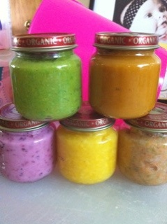 More homemade baby food recipes