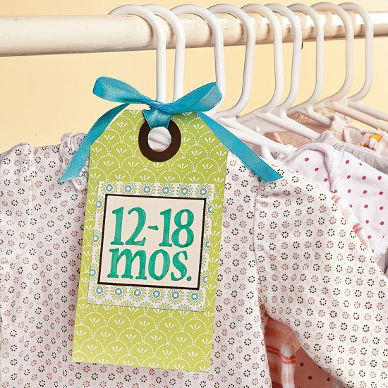 Baby's Closet Tags - OrientalTrading.com