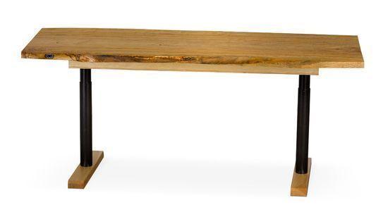 For Matt. Simple but still height adjustable Office Desk Layouts – a Balance Between