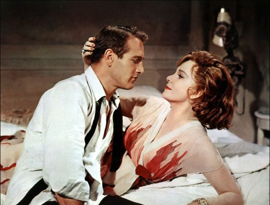 Paul Newman and Geraldine Page  'Sweet Bird of Youth'