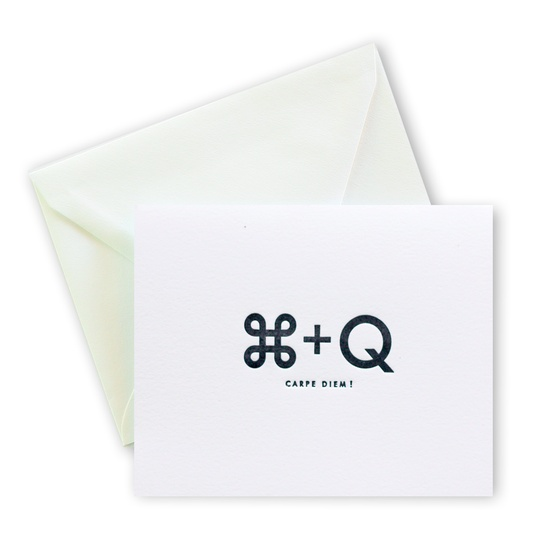 Bravo! Letterpress Cards