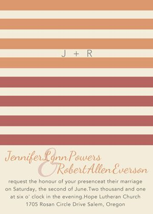 Perfect 40 Striped Wedding Ideas
