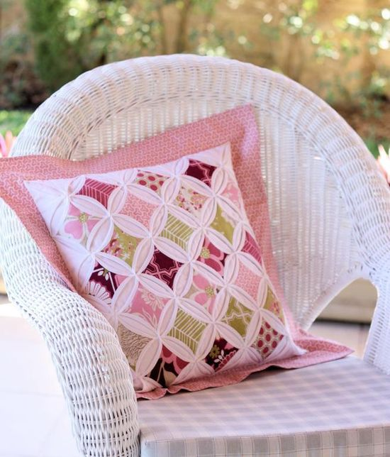 10 Patchwork Cushion