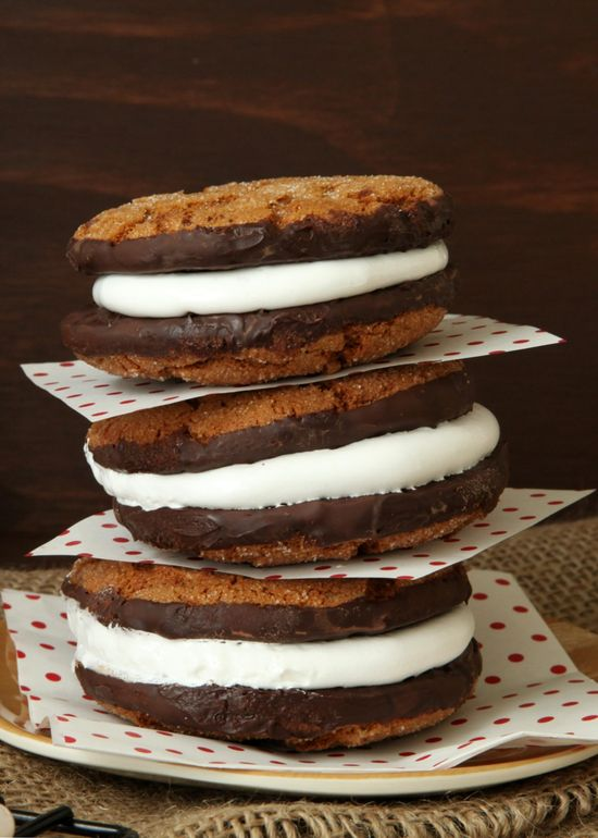 Gingersnap S'mores