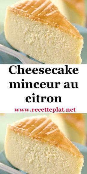 Envie de légèreté et de douceur, la recette du cheesecake minceur au citron est faite pour vous. Sans fond de tarte, ce cheesecake au citron est allégé et faible en calories. Nul besoin de matières grasses pour se faire plaisir au dessert. Réalisez par vous-même un cheesecake au fromage blanc allégé en sucre et à la douce acidité du citron. C'est si simple de se faire plaisir sans grossir.