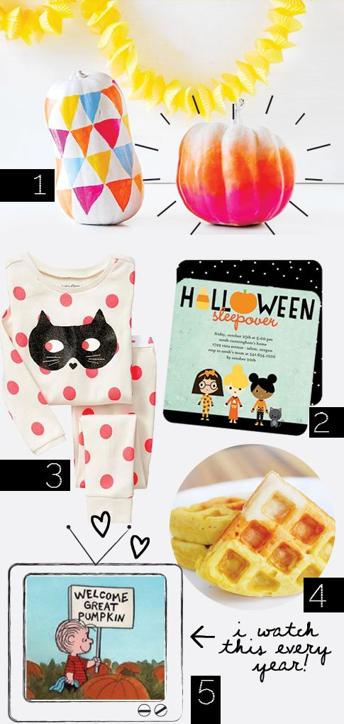 Halloween Slumber Party Ideas