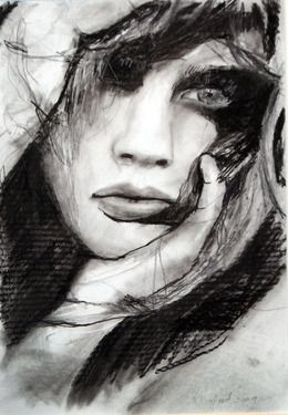 "Saatchi Online Artist Kristian Mumford; Drawing, ""Emotional Breakdown"" #art"