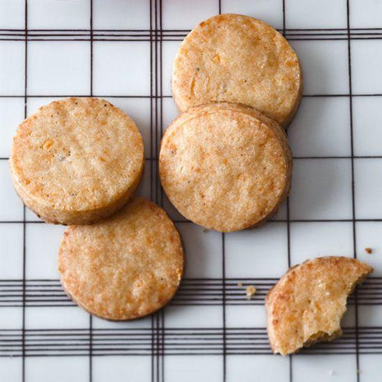 Smoked Cheese Cocktail Cookies // More Fabulous Cheese Recipes: www.foodandwine.c... #foodandwine