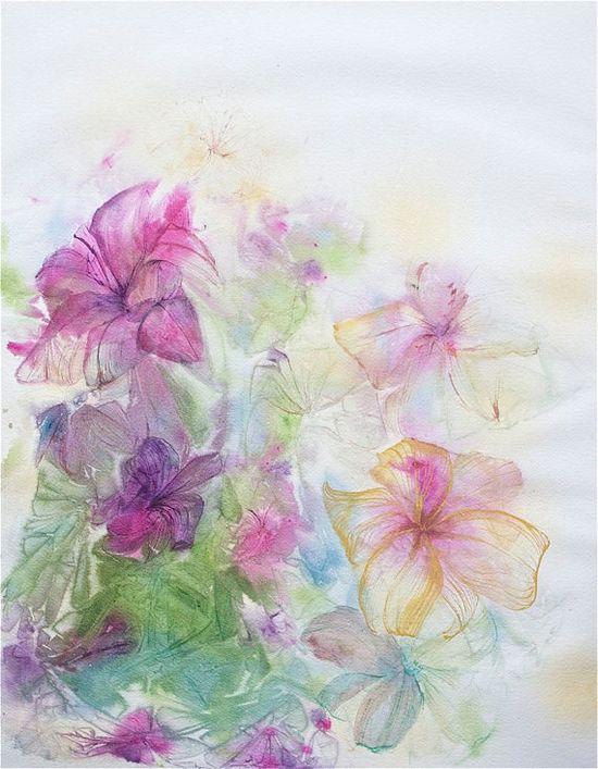 Watercolor Flowers : D