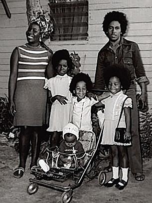 marley family portrait • 1973