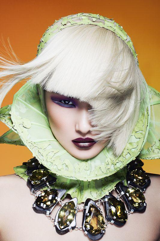 IN A FLASH by Yulia Gorbachenko, via Behance  #photography #beauty #fashion #makeup