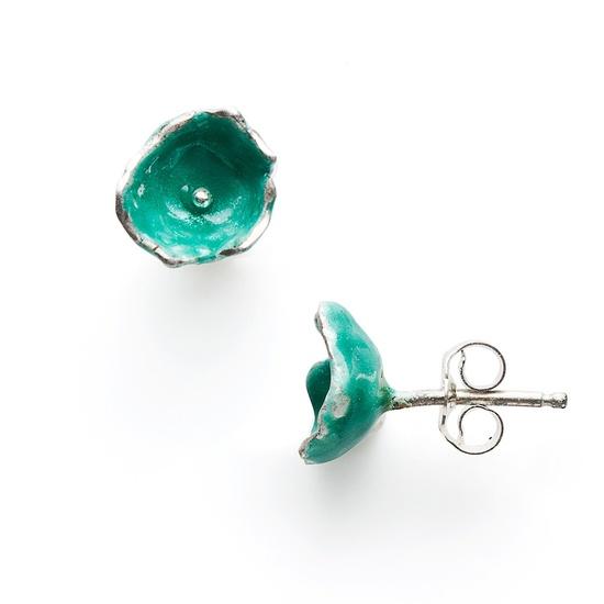 Tiny Flower Earrings Shamrock