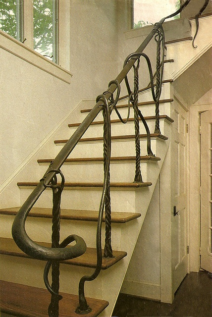 ... one of a kind railing in a home in Verona  [part of previous pinner's caption]