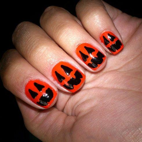 Halloween by Danie - Nail Art Gallery nailartgallery.na... by Nails Magazine www.nailsmag.com #nailart