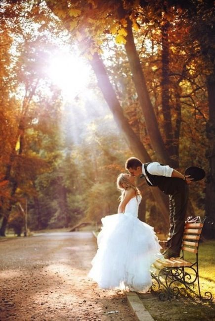 For an unforgettable fall wedding - photography tips