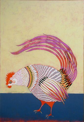 rooster, By Jennifer Davis via Flickr. #bird