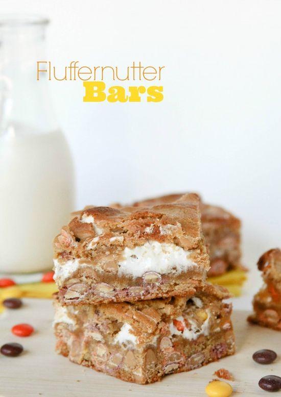 Fluffernutter Bars