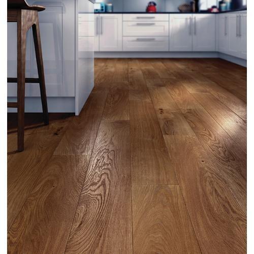 Golden Harvester Oak Engineered Wood Flooring - Engineered Wood Flooring - Flooring -Tiles & Floors - Wickes