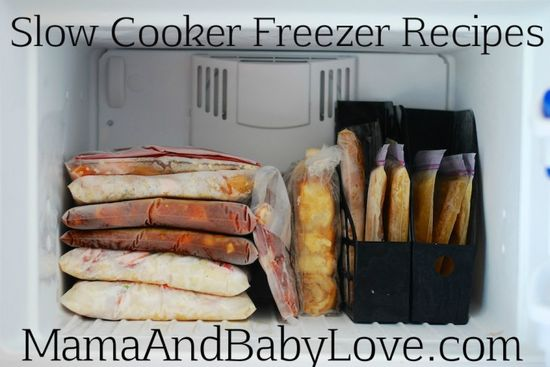 Freezer Cooking with Slow Cooker Recipes