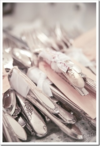 """A """"Hotel Collection"""" of silverware.  I love it."""