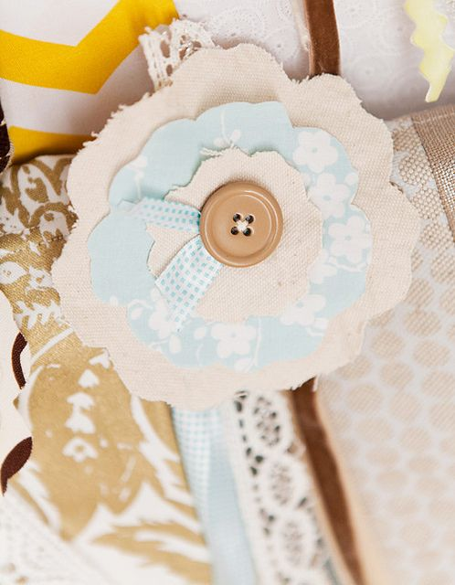 love it. flower fabric