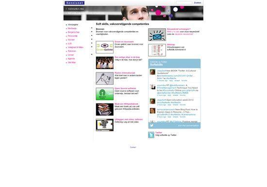 Dutch website #self personality