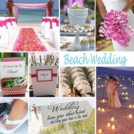 {Beach Wedding}