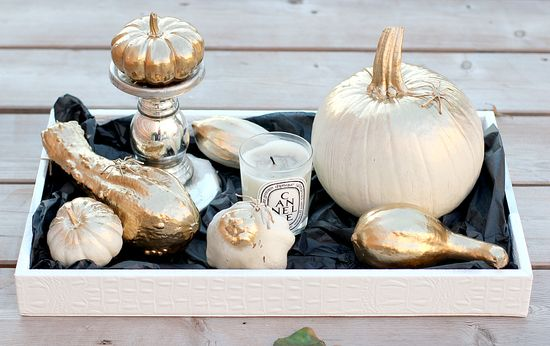 Do It Yourself: Glamorous Pumpkins
