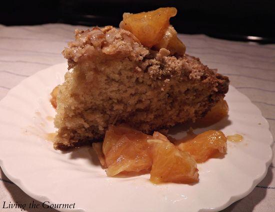 Spiced Orange Cake recipe ~ #cake #crumble #dessert