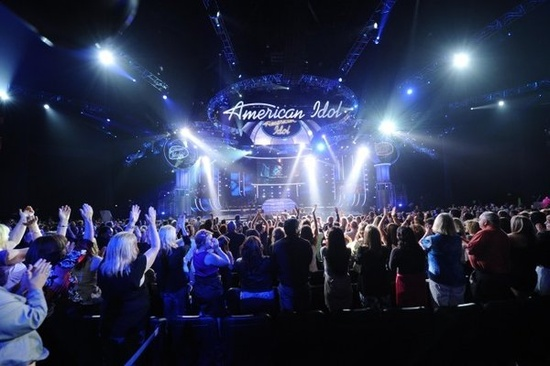 american idol stage