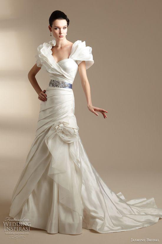 Best wedding dress collection elizabeth fillmore spring for Jasmine couture wedding dresses