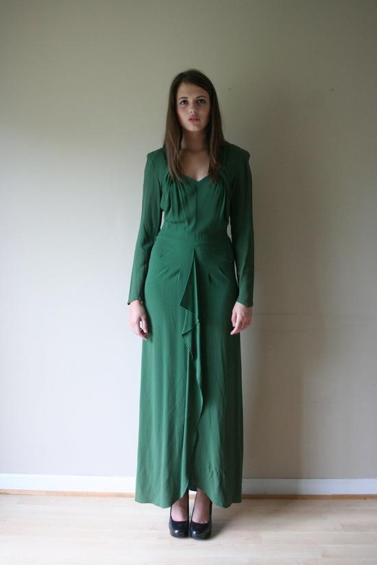 1940s dress full view