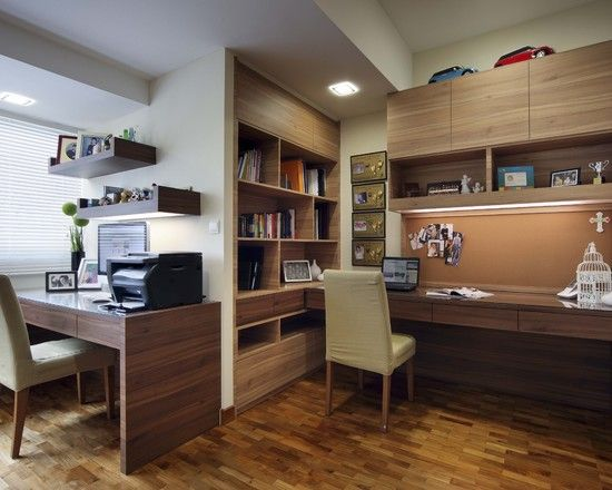 Modern Home Office Design, Pictures, Remodel, Decor and Ideas - page 5