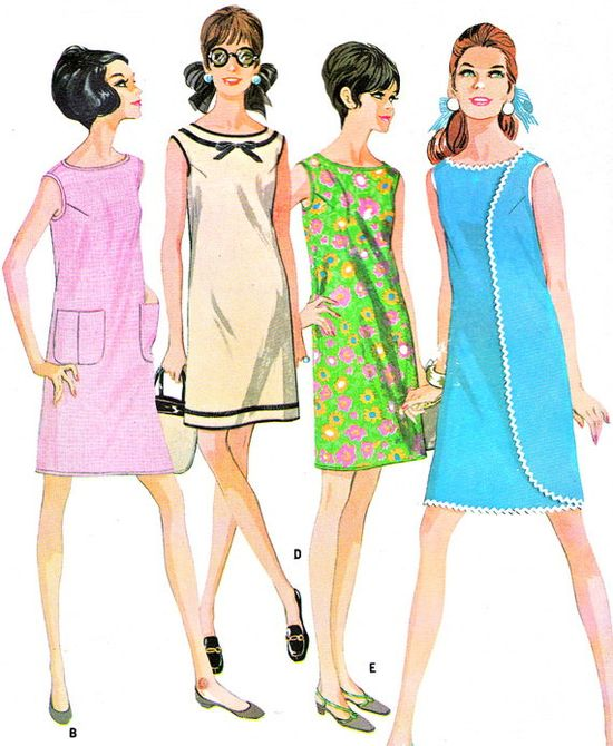 1960s Dress Pattern McCalls 9118 Mod Wraparounder by paneenjerez, $30.00