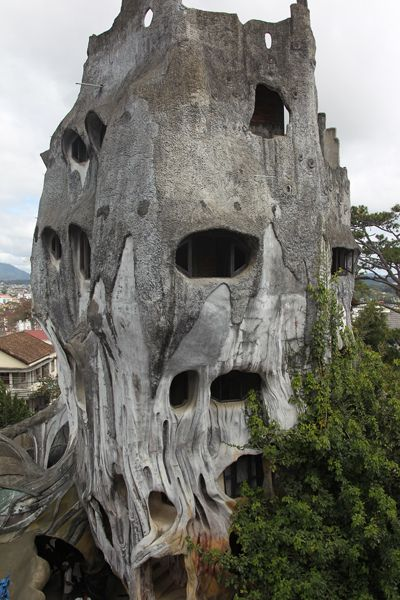 House in Dalat-Vietnam; one of the 10 most special buildings in the world (?)--photo by Bertrand Linet