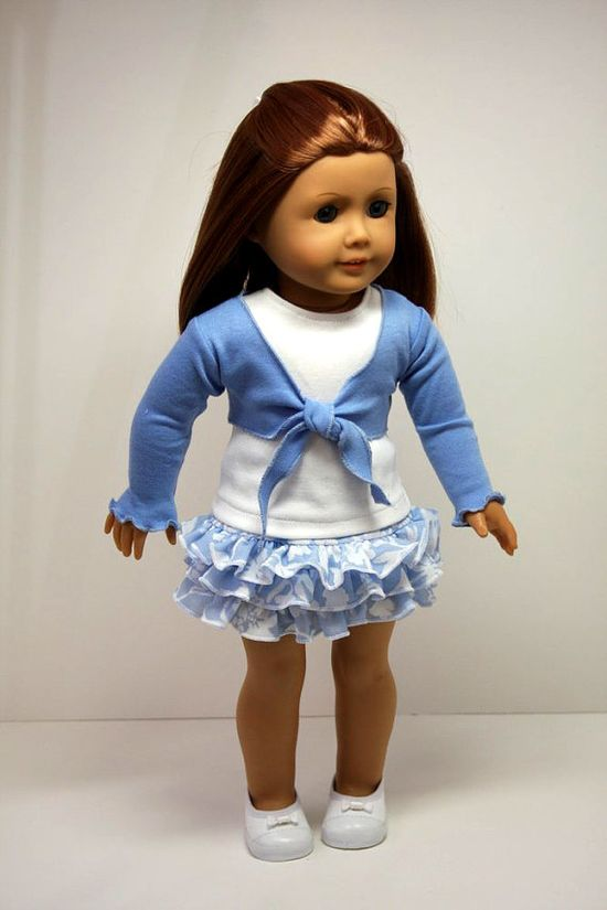cute american girl or 18 inch doll clothing
