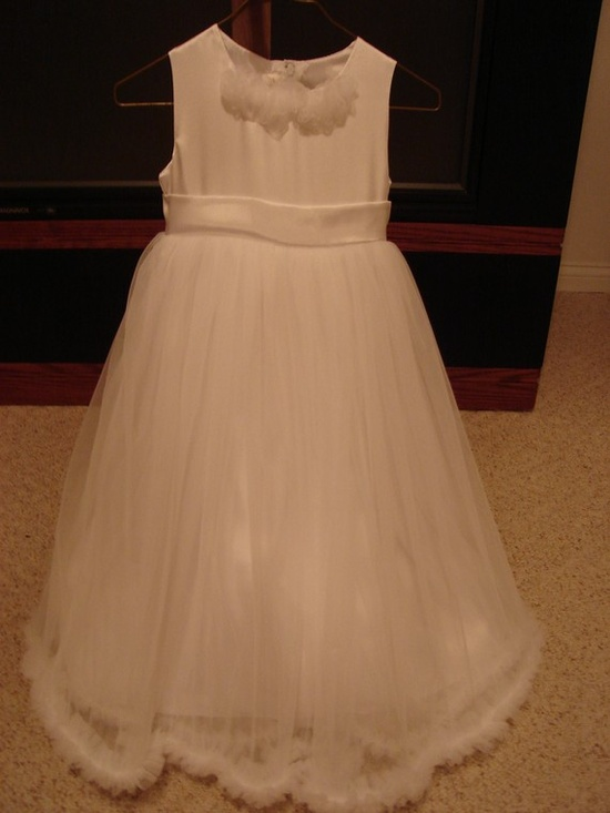 Super sweet airy playful flowergirl dress with by SashCouture1, $225.00
