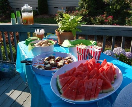 """A """"100 Days of Real Food"""" Cookout Spread"""