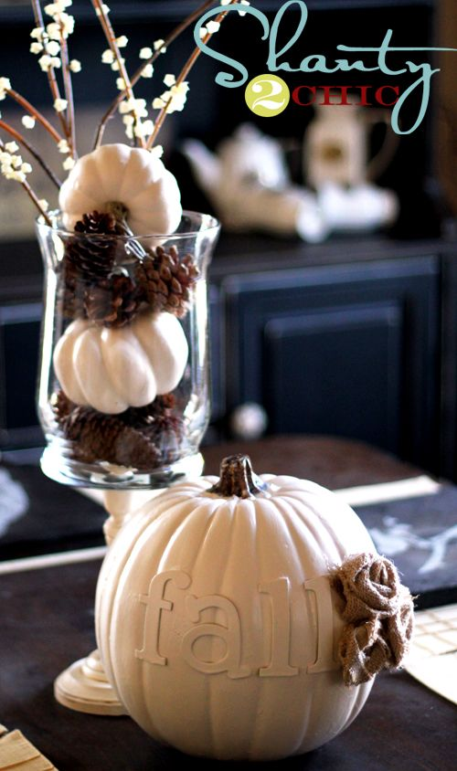 fall decor ideas!