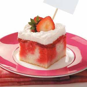 Strawberry shortcake dessert recipe