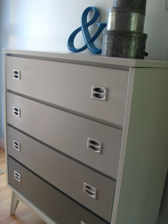 Rosa Beltran Design Ombre Drawers And Other Painted Dressers